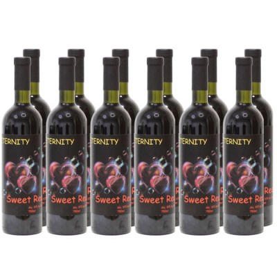 Sweet Red Wine Eternity Wine from Moldova
