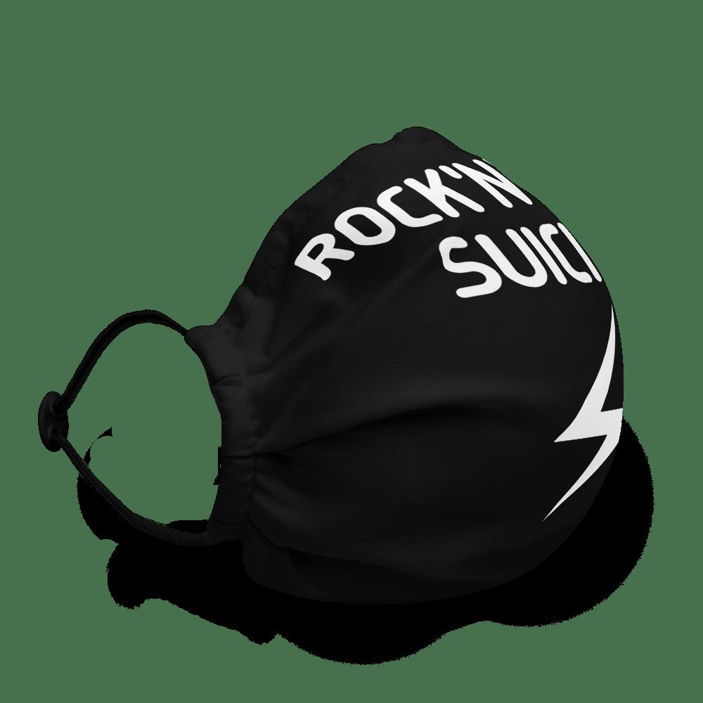 Rock'n'Roll black face mask