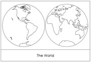 Western Hemisphere Map Coloring Page Coloring Pages