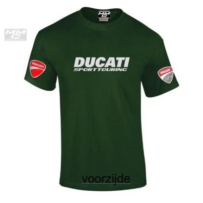 ST-Ducati T-shirt Groen