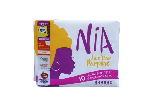 Nia 10 Ultra Soft Fit Sanitary Pads
