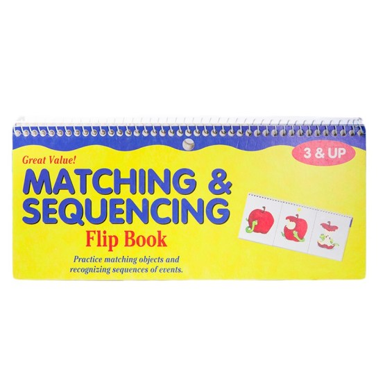 Matching & Sequencing Flip Book