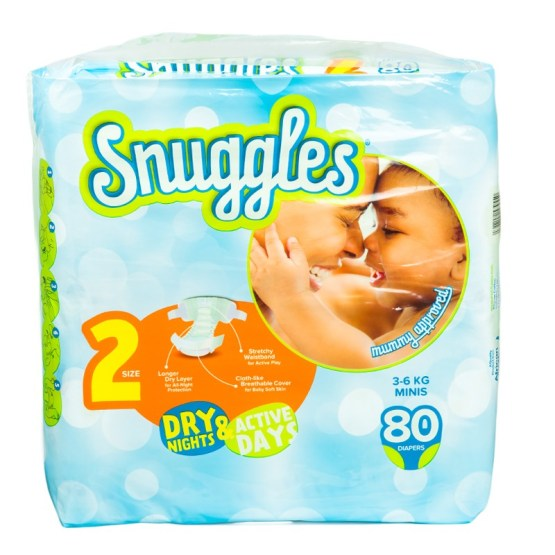 Snuggles Diapers Mini Size 2 – 80 Count