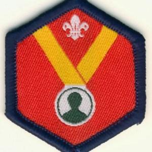 106163 Beaver Personal Challenge Award Badge