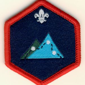 106184 Scout Expedition Challenge Award Badge