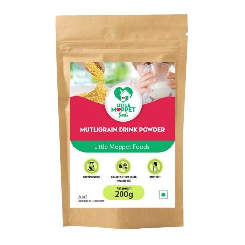 Natural millet health drink for kids