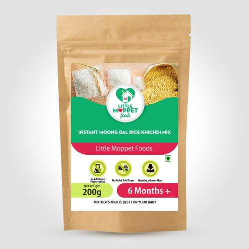 Instant Rice Khichdi Powder with Moongdal