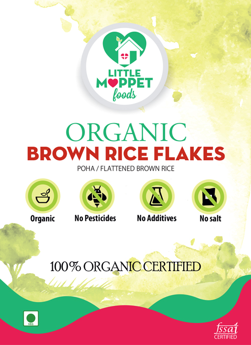 buy organic brown rice poha online India