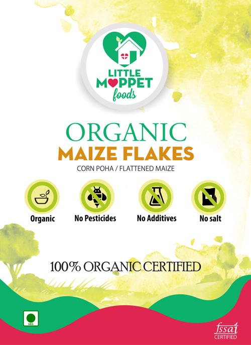 buy organic Maize flakes Corn poha online India