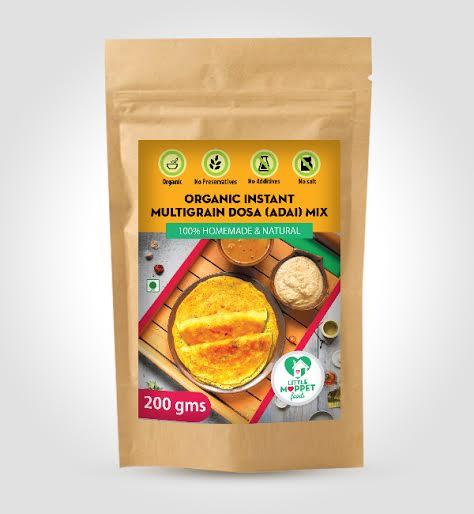 Little Moppet Foods Organic Instant Multigrain Dosa 2