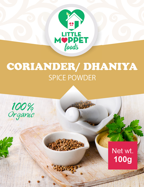 buy organic coriander powder for babies