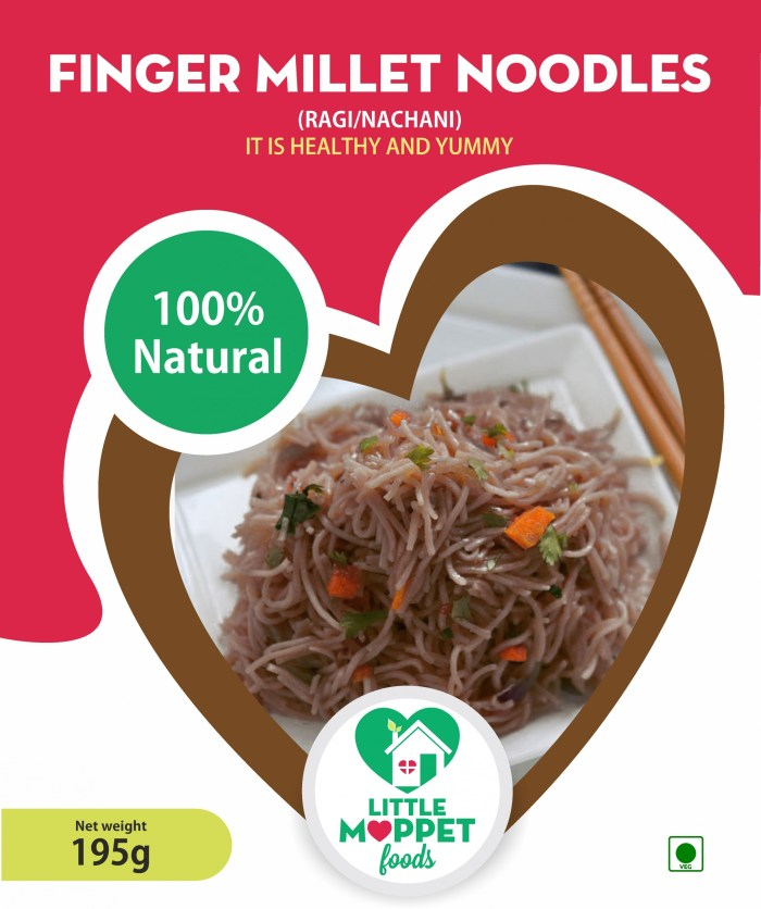Finger Millet Noodles is a super food with amazing nutritional content especially for healthy bones.Prevents anemia and maintains healthy bones.