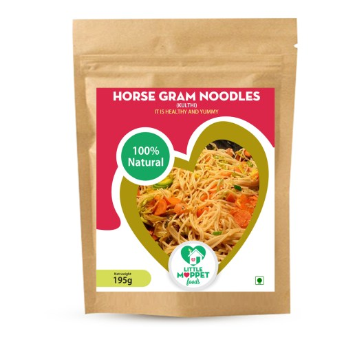 Super delicious bowl of noodles which offers relief for common ailments like cold, fever and digestive issues - Horse Gram Noodles
