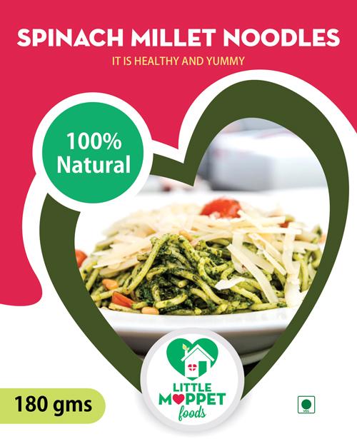 Spinach Millet Noodles