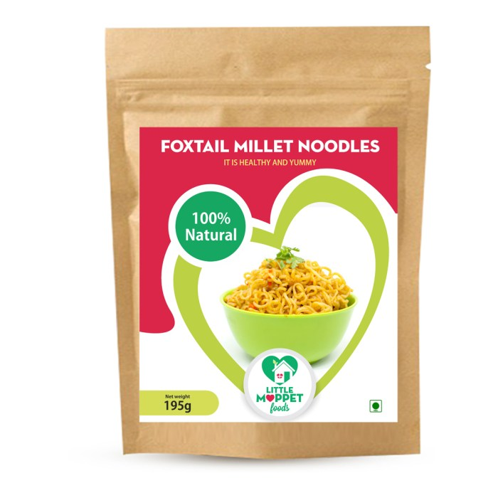 Foxtail Millet Noodles is a gluten free Bowl of nutrition with the goodness of calcium, iron, potassium, magnesium and lots of fiber!