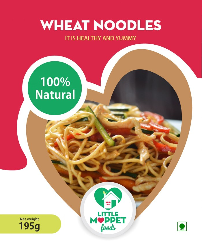 Slurpy, wholesome wheat noodles with the goodness of whole wheat, which includes the nutritious bran, germ and endosperm parts of the grain.