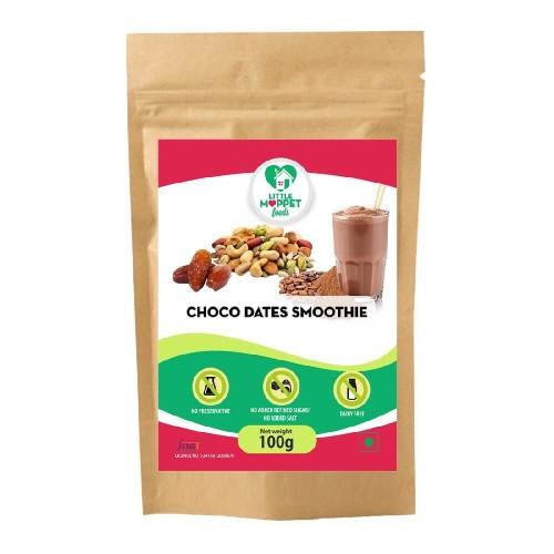 Choco-Dates Smoothie Mix - Instant Drink Mix Powder For Kids And Adults [100g]