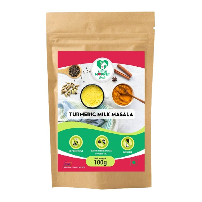 Turmeric Milk Masala – Drink Mix For Kids And Adult [100g]