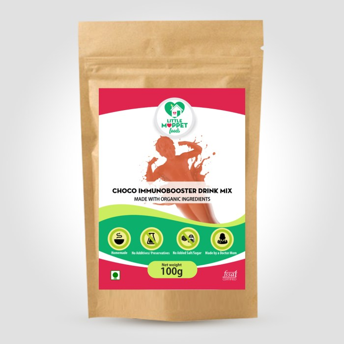 Choco Immunobooster Drink Mix - Increases Immunity In Kids And Adults - Mega Pack