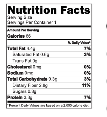 Choco Immunobooster drink Mix Nutrition Facts