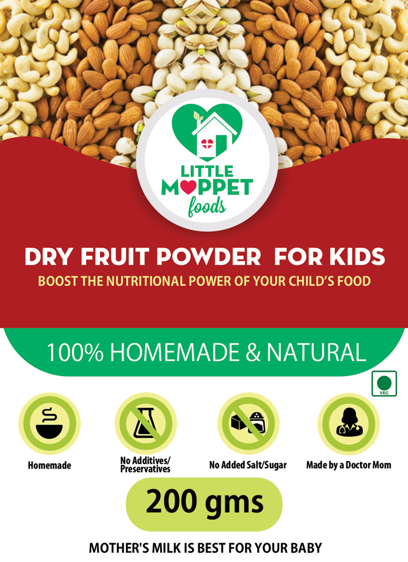 Dry fruit powder for babies and kids