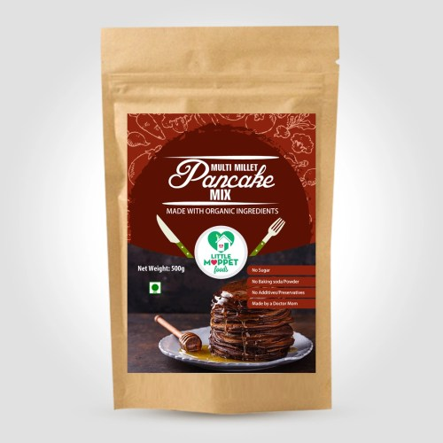 Multimillet Pancake is a multi-nutritional breakfast for the whole family in just few minutes with no preservatives, artificial flavors, sugar or salt.