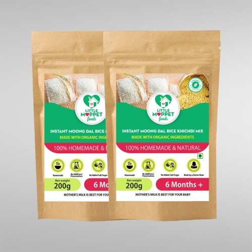 Instant Moongdal Rice Kh1ichdi Mix Super Saver Pack