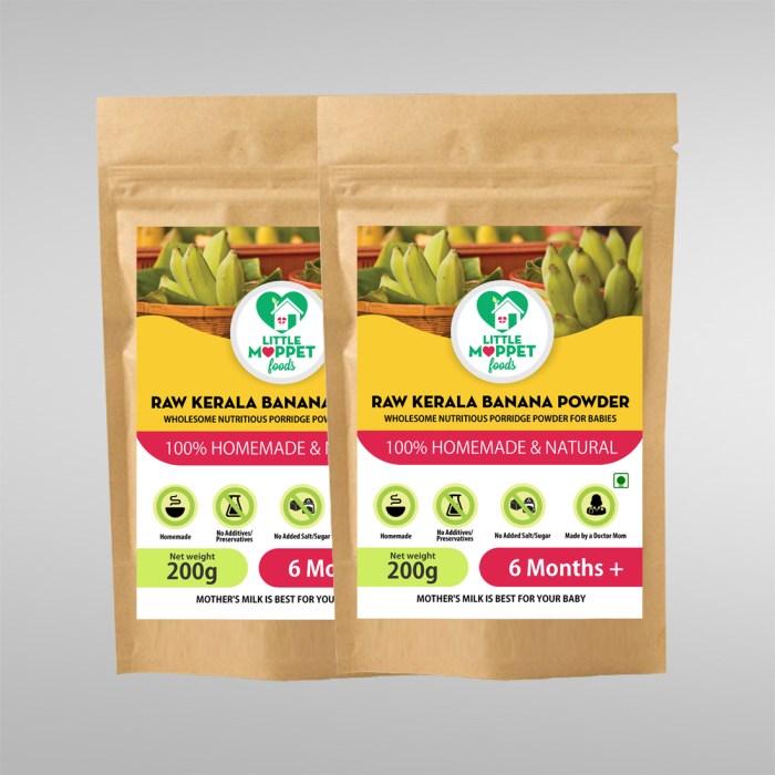 Raw Kerala Banana Powder Super Saver Pack