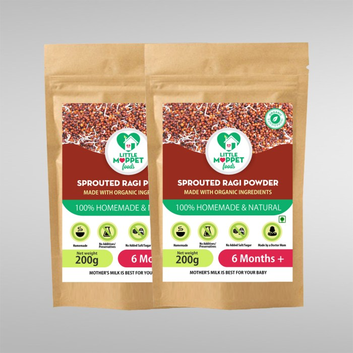 Sprouted Ragi Powder Super Saver Pack