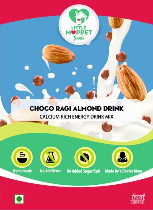 Choco Ragi Almond Drink