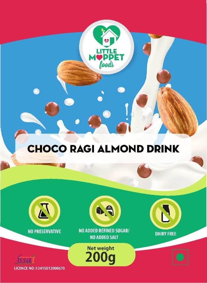 Choco Ragi Almond Drink [200g]