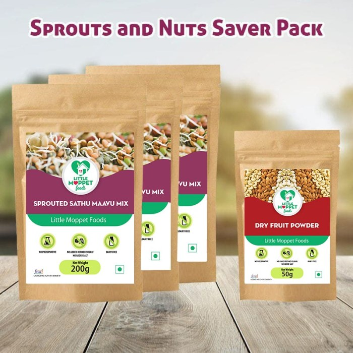 sprouts and nuts saver pack
