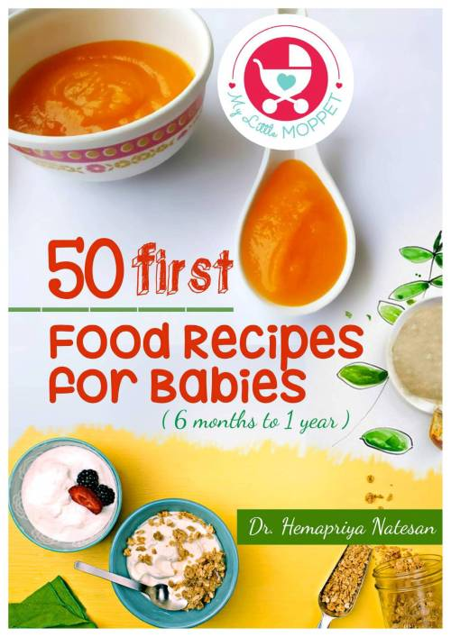 50 first food recipes for babies