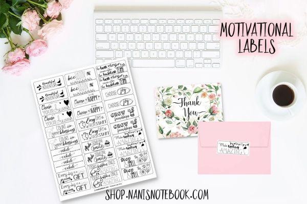 motivational labels