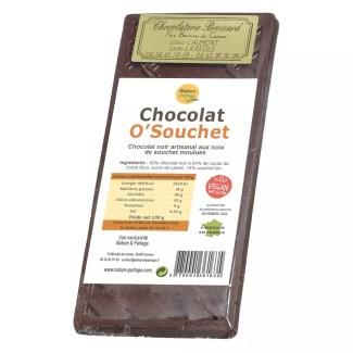 dark chocolate with tigernut