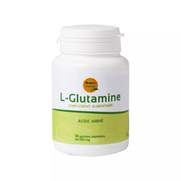 L-Glutamine in capsules
