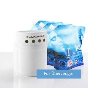 Raumklimasystem zur Linderung von Atemwegsbeschwerden, Allergien, Feinstaub und Hautkrankheiten.