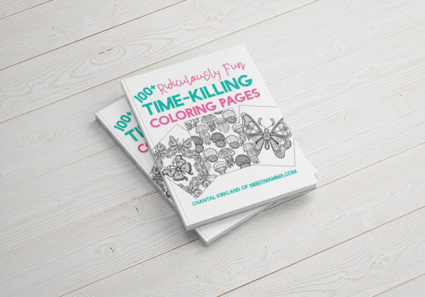 100+ Ridiculously Fun Time-Killing Coloring Pages