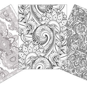 crazy busy coloring pages