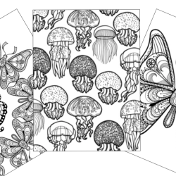 insect and animal coloring pages