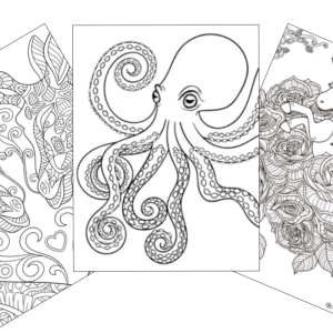 super whimsical coloring pages
