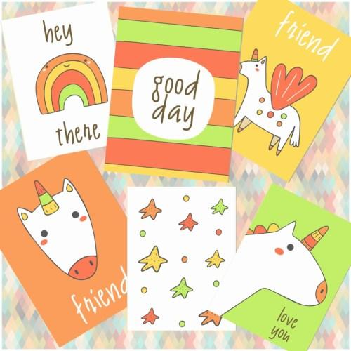 unicorn wall art printable free