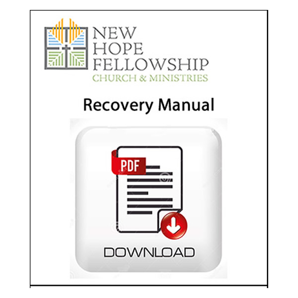 New Hope Recovery Manual (Digital Download)