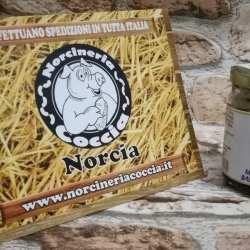 miele con aceto balsamico e noci