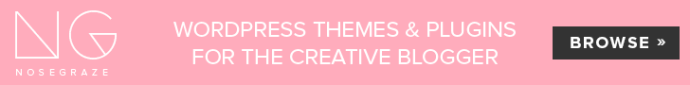Nose Graze - WordPress themes and plugins for the creative blogger