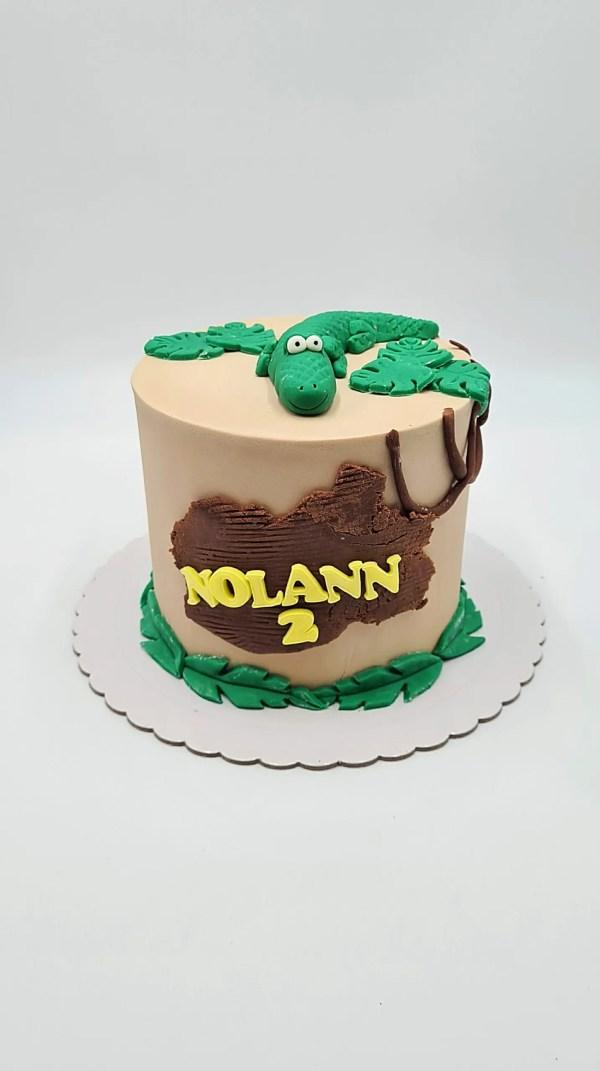 crocodil cake design