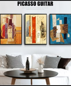 Munificent Vintage Collage Abstract Frameless Artwork Poster