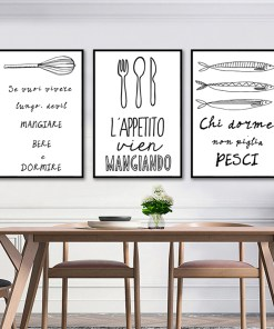 Alluring Black White Food Coffee Quotes Frameless Artwork