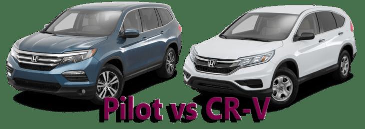 Pilot vs CR-V