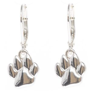 Pet Friends Print Drop Earrings